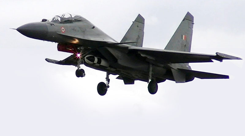 BrahMos Air-Launched Missile Successfully Fired from Su-30 MKI