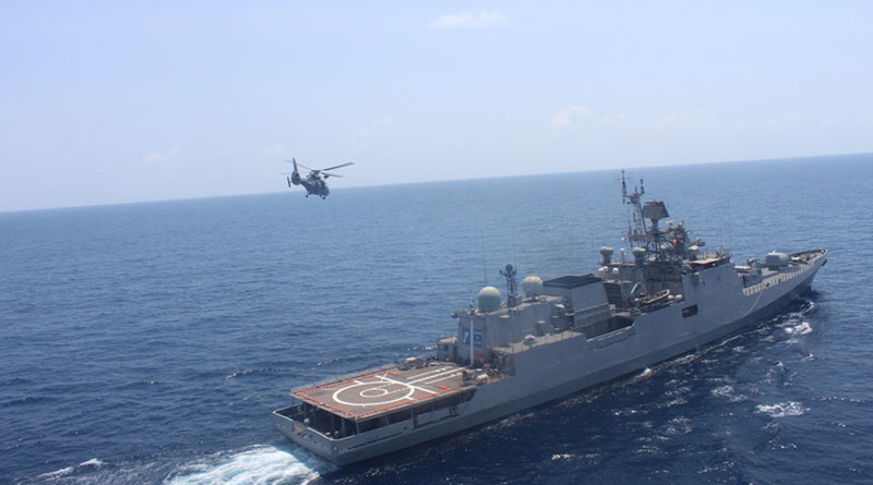 Exercise Varuna: Indian and French Navies begin Sea Phase
