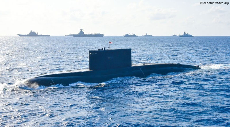 Indian and French Navies Conduct Second Phase of Varuna Bilateral Exercise