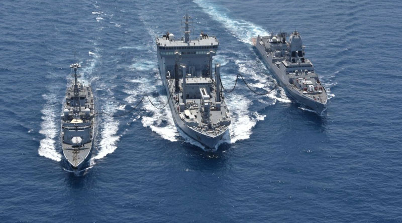 Second Day Saw Intensive Operations During Indo French Naval Exercise Varuna