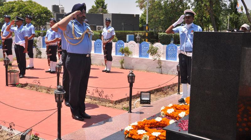 CAS Visits AFS Bhisiana, Pays Homage to Kargil Martyrs