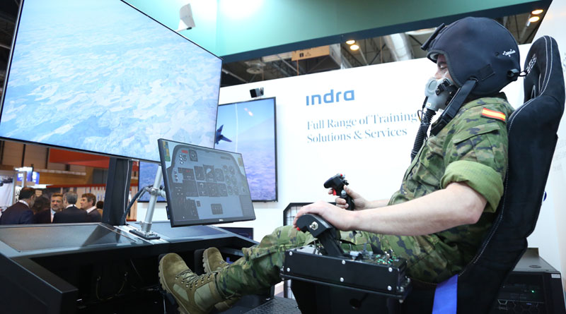 Indra Develops Hypoxia Flight Trainer for Spanish Military Pilots