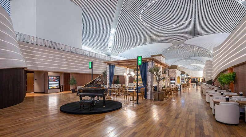 Turkish Airlines to Open 5 New Passenger Lounges at Istanbul Airport
