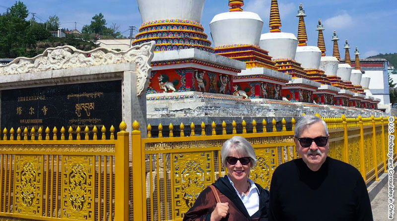 US ambassador makes rare visit to Tibet