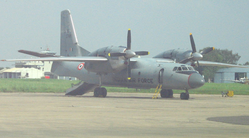 Search for Missing AN-32 of IAF Continues