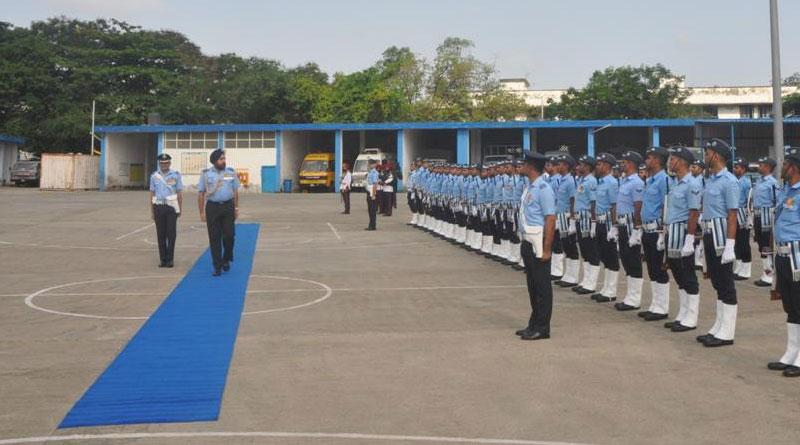 Air Marshal Harjit Singh Arora Visits Air Force Station Mumbai