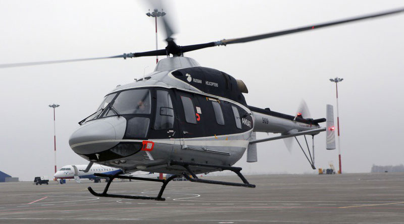 Rostec to Display Ansat Helicopter for the First Time in Europe