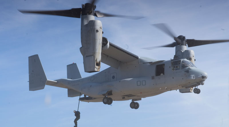 Boeing & Rossell Techsys Celebrate Dual Milestones for V-22 Osprey and AH-64 Apache