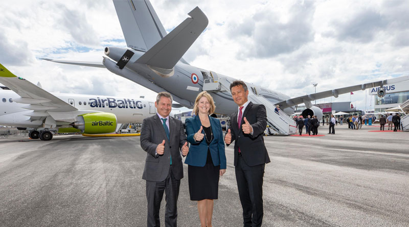 Lockheed Martin and Airbus Reaffirm 'Tanker Partnership' at Paris Air Show