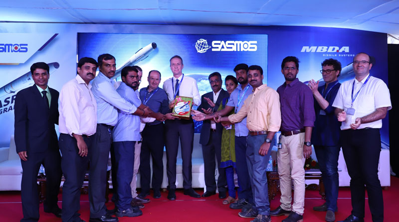 SASMOS and MBDA Celebrate Major Milestones on Make In India Missile Programmes