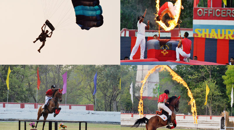 Spectacular show Thrills Parents at OTA, Gaya before Passing Out Parade