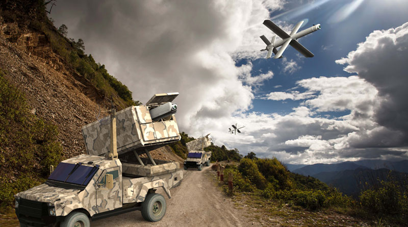 UVision will unveil the Hero-400EC's Multi-Canister Launcher at Paris Air Show