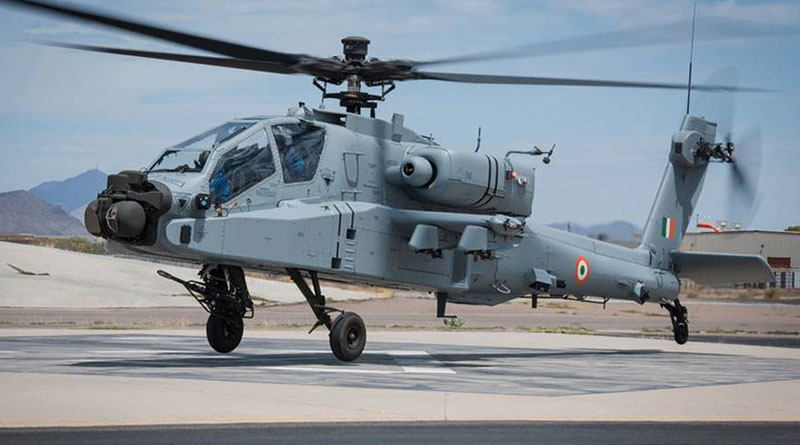 Boeing AH-64E Apache for the IAF Arrives in India