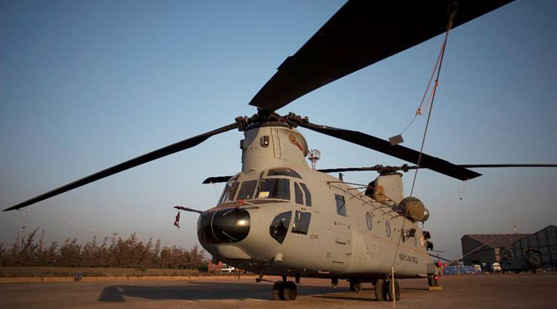 Two New Chinooks for the IAF Arrive at the Indian Shores