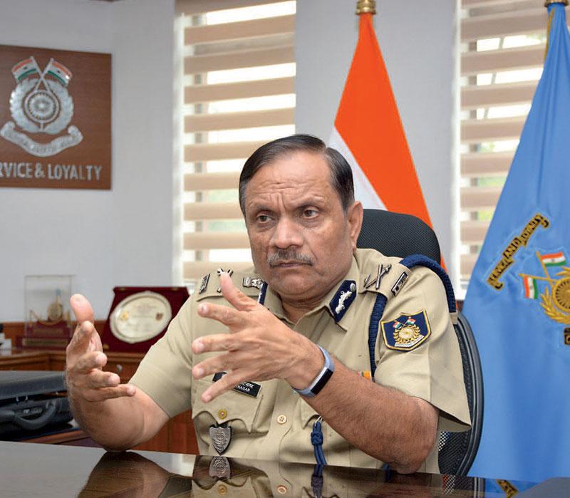 Director General, Central Reserve Police Force, R.R. Bhatnagar