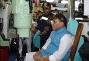 Defence Minister Visits INS Shivalik and INS Sindhukirti at Visakhapatnam