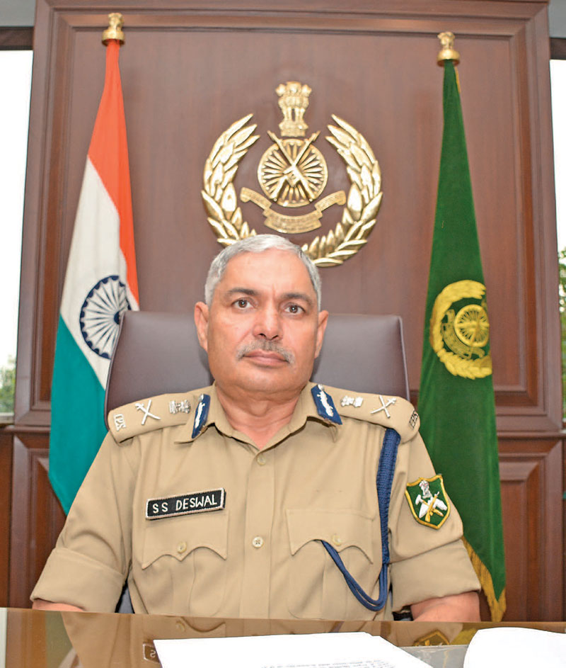 Director General, Indo-Tibetan Border Police S.S. Deswal
