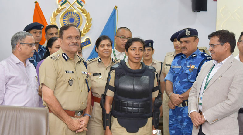 CRPF Unveils Protective Gear for Women Troopers