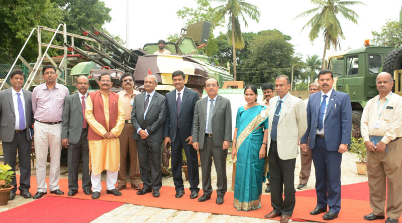 Minister of State for Defence Shripad Naik Visits BEL