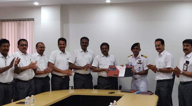 Indian Navy and CIAL Signs MoU