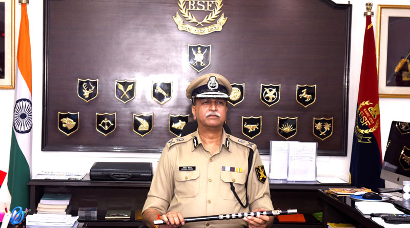 Vivek Kumar Johri Takes Charge as New DG BSF
