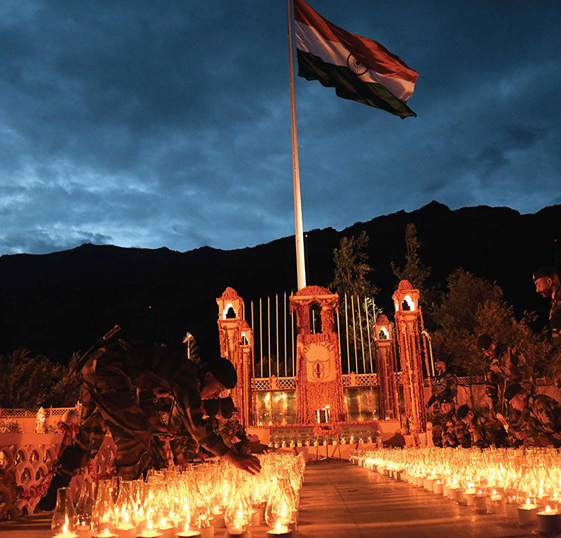 The nation commemorates 20 years of the Kargil conflict
