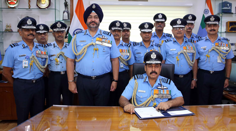 RKS Bhadauria Takes Over as Chief of the Air Staff