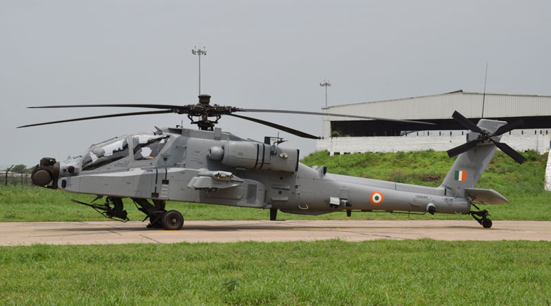 IAF Inducts Boeing AH-64E Apache Helicopters