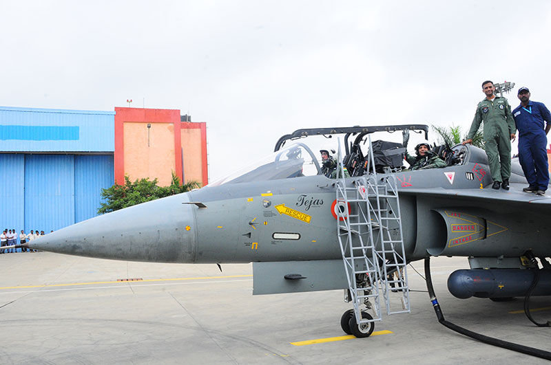 Defence Minister Flies LCA Tejas