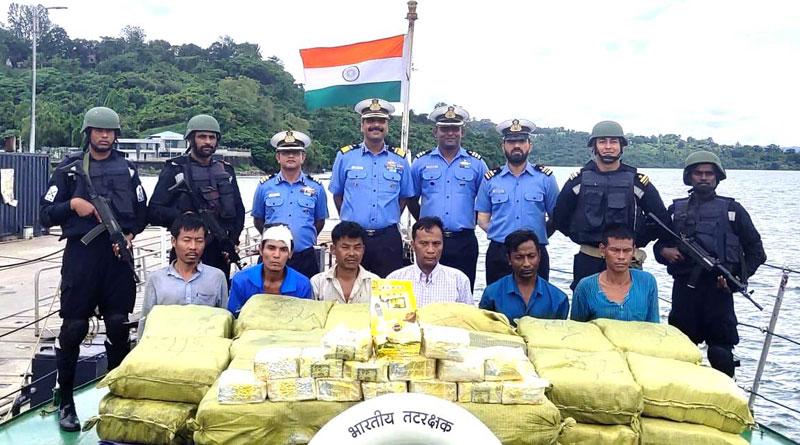 Coast Guard Seizes 300 Crore Worth of Ketamine