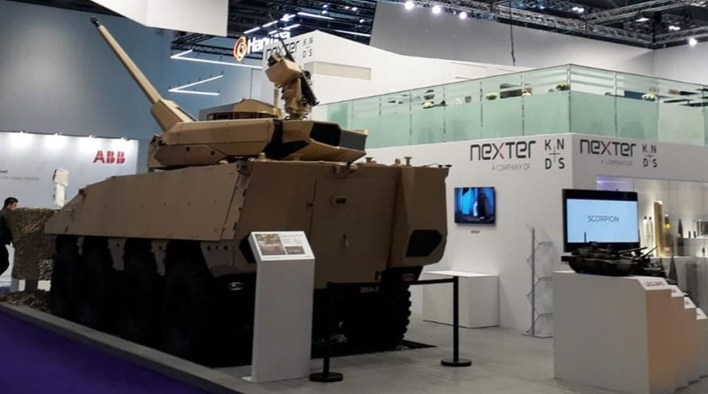 Nexter Showcases its Mettle at DSEI Exhibition
