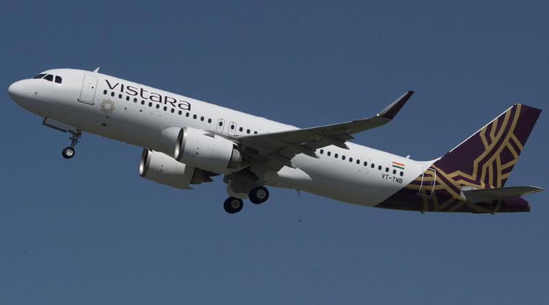 Vistara Selects Airbus' FHS-TSP Solution to Maintain A320 Fleet
