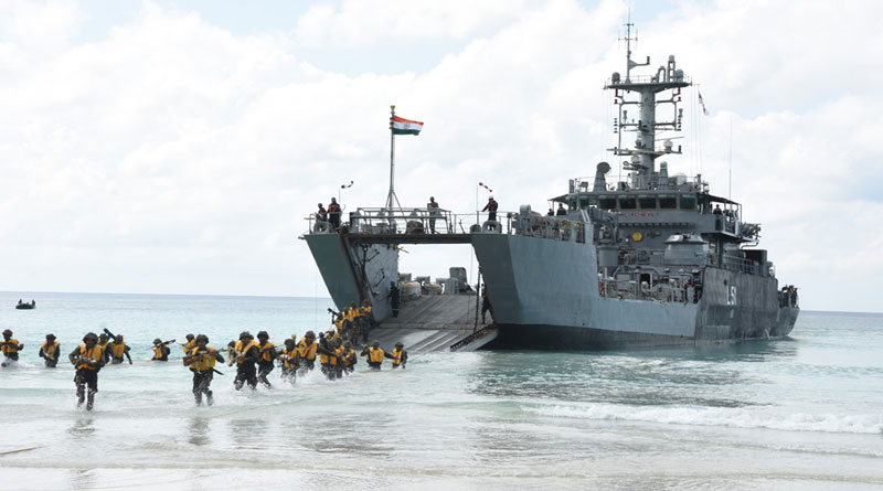 ANC Conducts Defence of Andaman & Nicobar Islands Exercise 2019