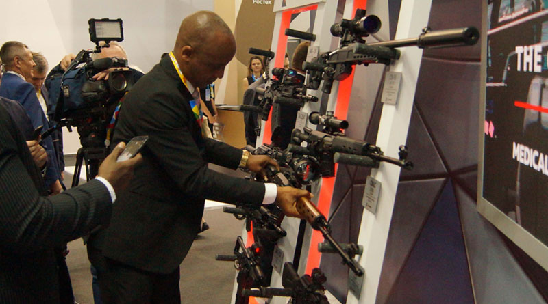 Rosoboronexport Banks High on African Nations in Sochi