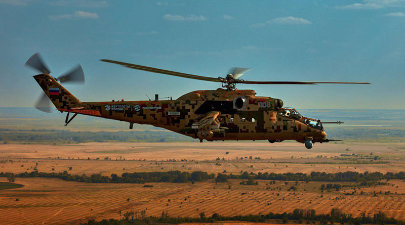 Russian Helicopters Presents Mi-35P and Ansat at Russia-Africa Economic Forum