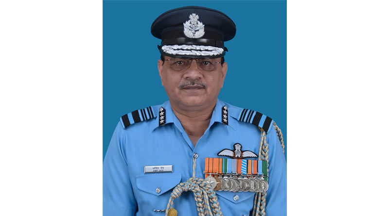Air Marshal Amit Dev Takes Charge as AOP at Air Headquarters