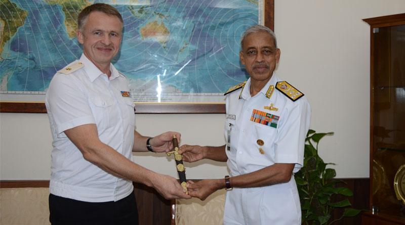 Indian, Russian Navies Hold Staff Talks in New Delhi
