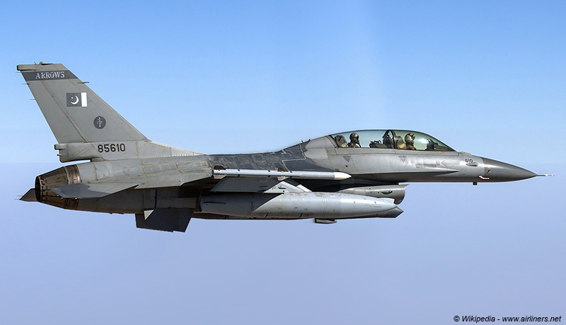 Pakistan Air Force F-16BM Fighting Falcon