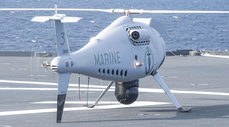 Schiebel Camcopter S-100 Fully Integrated to French Navy Ship