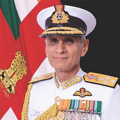 Chief of naval staff Admiral Karambir Singh PVSM, AVSM