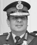Lt Gen A B Shivane (retd)