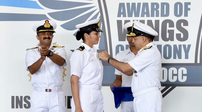Navy Gets its First Woman Pilot