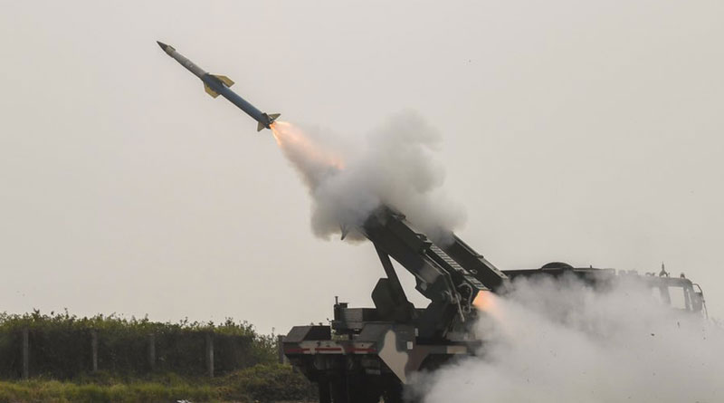 Quick Reaction SAM Successfully Flight-Tested by DRDO