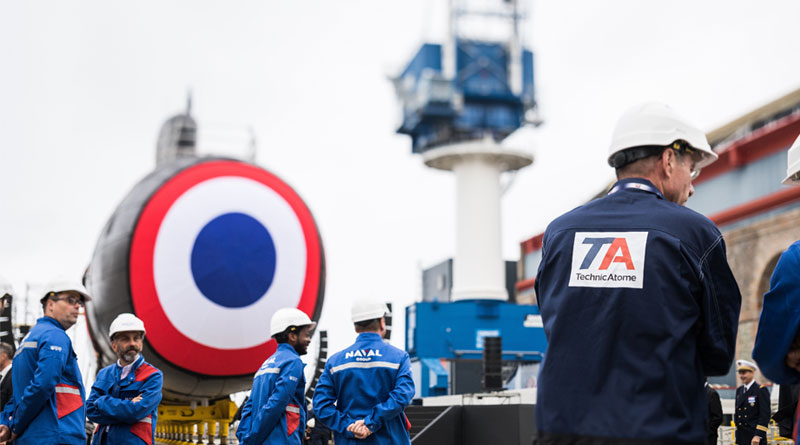 Nuclear Reactor of France's Suffren SSN Started for The First Time