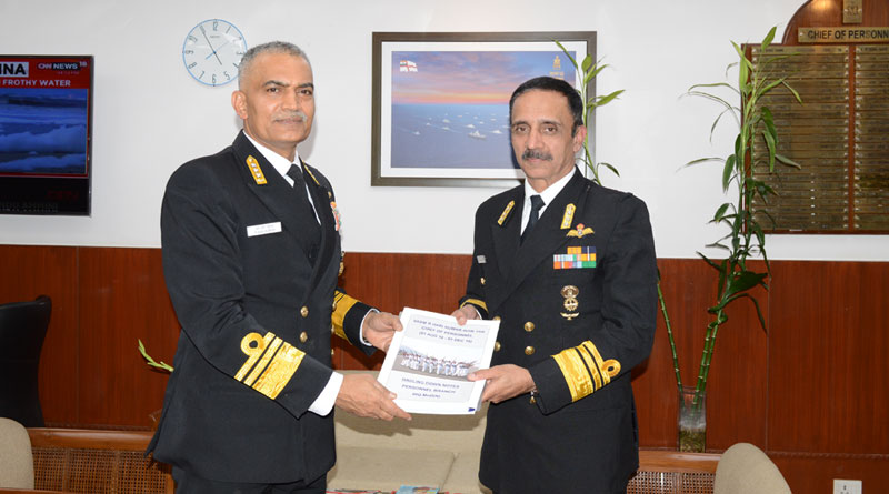 Vice Admiral Ravneet Singh New Chief of Personnel, IHQ MoD (Navy)