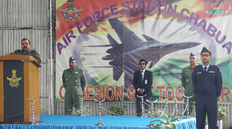 Air Chief Marshal R.K.S. Bhadauria Visits Eastern Sector Bases