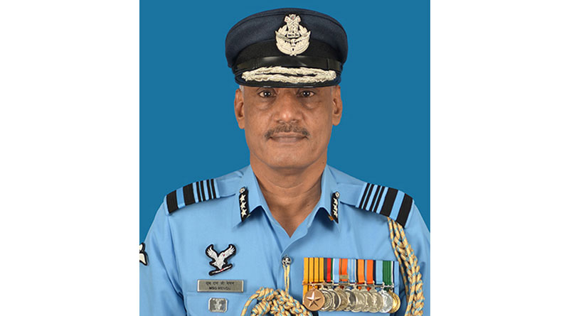Air Marshal MSG Menon Assumes Charge as AOA of IAF