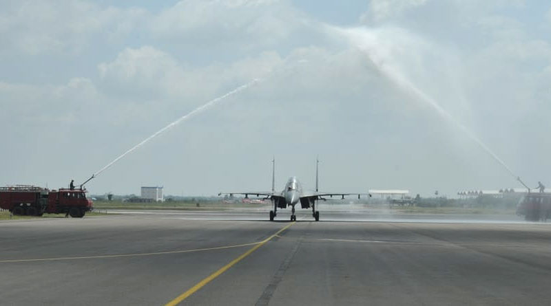 IAF Inducts Sukhoi-30MKI Fighter Squadron at Tamil Nadu's Thanjavur