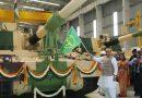 Rajnath Singh Flags off 51st K-9 VAJRA-T Gun Tank
