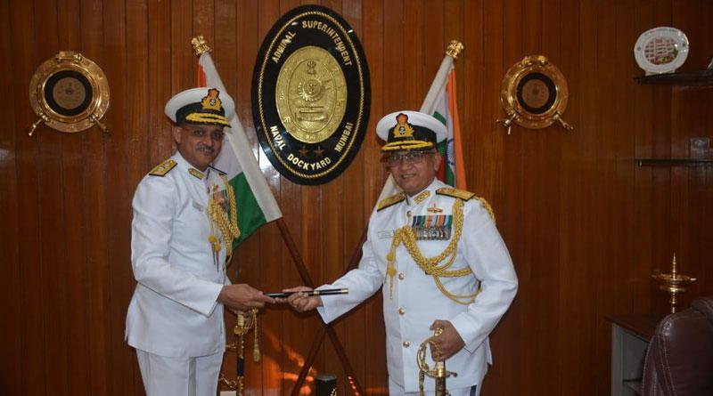 Rear Admiral R. Swaminathan Takes Over Naval Dockyard (Mumbai)